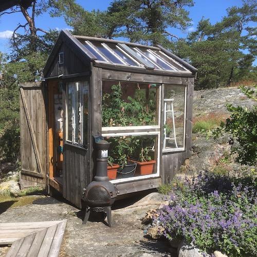 Återbruk - växthus