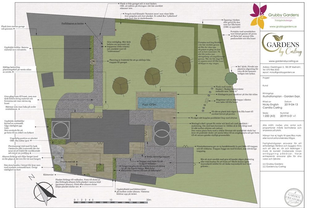 Plats för livet – trädgårdsdesign Vaxholm