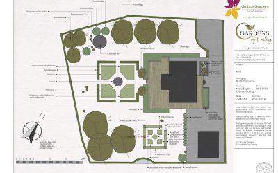 Slottsträdgård – Trädgårdsdesign Haninge